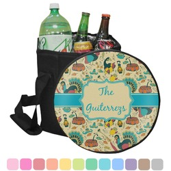 Old Fashioned Thanksgiving Collapsible Cooler & Seat (Personalized)