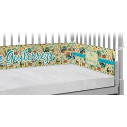 Old Fashioned Thanksgiving Crib Bumper Pads (Personalized)