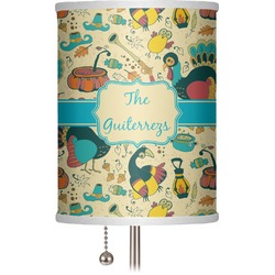 """Old Fashioned Thanksgiving 7"""" Drum Lamp Shade (Personalized)"""