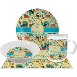 Old Fashioned Thanksgiving Dinner Set - 4 Pc (Personalized)