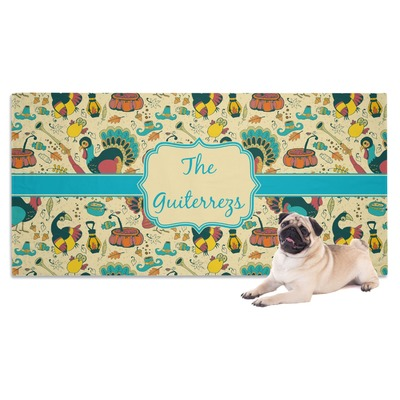 Old Fashioned Thanksgiving Dog Towel (Personalized)
