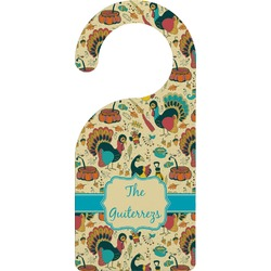 Old Fashioned Thanksgiving Door Hanger (Personalized)