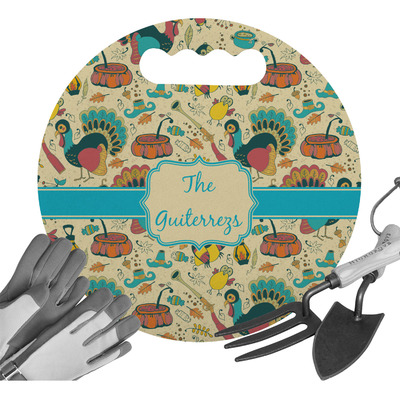 Old Fashioned Thanksgiving Gardening Knee Cushion (Personalized)