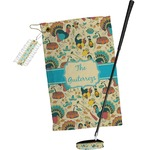 Old Fashioned Thanksgiving Golf Towel Gift Set (Personalized)