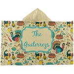 Old Fashioned Thanksgiving Kids Hooded Towel (Personalized)