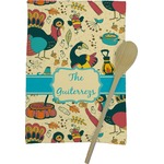 Old Fashioned Thanksgiving Kitchen Towel - Full Print (Personalized)