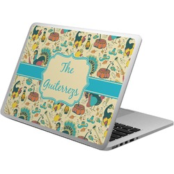 Old Fashioned Thanksgiving Laptop Skin - Custom Sized (Personalized)