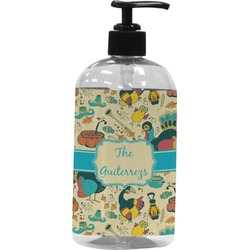 Old Fashioned Thanksgiving Plastic Soap / Lotion Dispenser (Personalized)