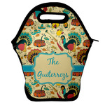 Old Fashioned Thanksgiving Lunch Bag w/ Name or Text