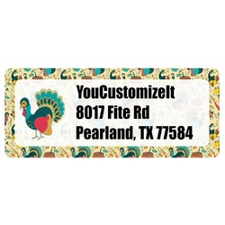 Old Fashioned Thanksgiving Return Address Label (Personalized)