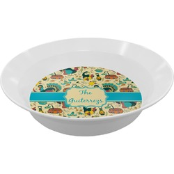 Old Fashioned Thanksgiving Melamine Bowl (Personalized)
