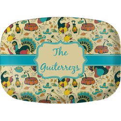Old Fashioned Thanksgiving Melamine Platter (Personalized)