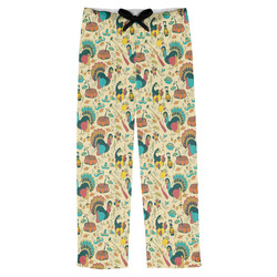 Old Fashioned Thanksgiving Mens Pajama Pants (Personalized)