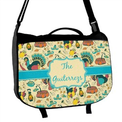 Old Fashioned Thanksgiving Messenger Bag (Personalized)