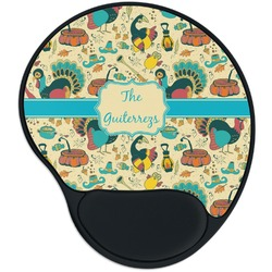 Old Fashioned Thanksgiving Mouse Pad with Wrist Support
