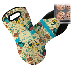 Old Fashioned Thanksgiving Neoprene Oven Mitt (Personalized)