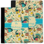 Old Fashioned Thanksgiving Notebook Padfolio w/ Name or Text