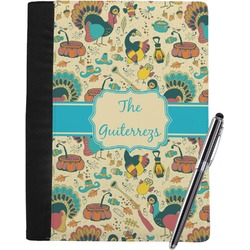 Old Fashioned Thanksgiving Notebook Padfolio (Personalized)