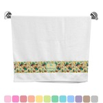 Old Fashioned Thanksgiving Bath Towel (Personalized)
