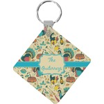 Old Fashioned Thanksgiving Diamond Key Chain (Personalized)