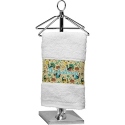 Old Fashioned Thanksgiving Finger Tip Towel (Personalized)