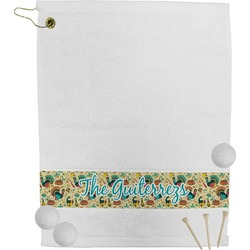 Old Fashioned Thanksgiving Golf Towel (Personalized)