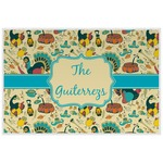 Old Fashioned Thanksgiving Laminated Placemat w/ Name or Text