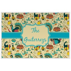 Old Fashioned Thanksgiving Placemat (Laminated) (Personalized)