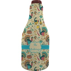 Old Fashioned Thanksgiving Wine Sleeve (Personalized)