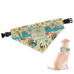 Old Fashioned Thanksgiving Dog Bandana (Personalized)