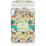 Old Fashioned Thanksgiving Dog Treat Jar (Personalized)