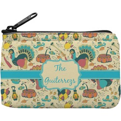 Old Fashioned Thanksgiving Rectangular Coin Purse (Personalized)