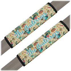 Old Fashioned Thanksgiving Seat Belt Covers (Set of 2) (Personalized)