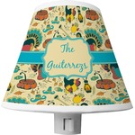 Old Fashioned Thanksgiving Shade Night Light (Personalized)