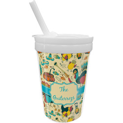 Old Fashioned Thanksgiving Sippy Cup with Straw (Personalized)