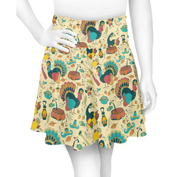 Old Fashioned Thanksgiving Skater Skirt (Personalized)