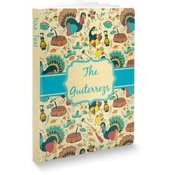 Old Fashioned Thanksgiving Softbound Notebook (Personalized)