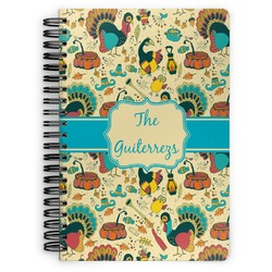 Old Fashioned Thanksgiving Spiral Bound Notebook (Personalized)