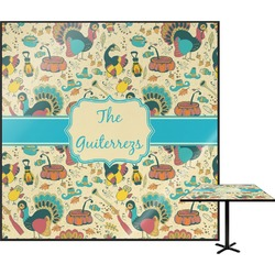 "Old Fashioned Thanksgiving Square Table Top - 30"" (Personalized)"