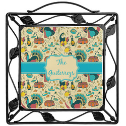 Old Fashioned Thanksgiving Trivet (Personalized)