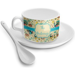 Old Fashioned Thanksgiving Tea Cup - Single (Personalized)