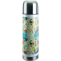 Old Fashioned Thanksgiving Stainless Steel Thermos (Personalized)