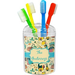 Old Fashioned Thanksgiving Toothbrush Holder (Personalized)