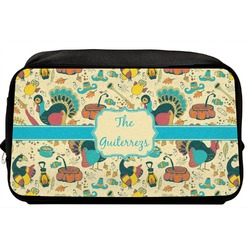 Old Fashioned Thanksgiving Toiletry Bag / Dopp Kit (Personalized)