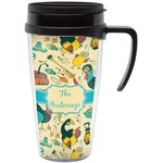 Old Fashioned Thanksgiving Travel Mug with Handle (Personalized)