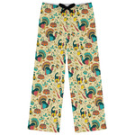 Old Fashioned Thanksgiving Womens Pajama Pants (Personalized)