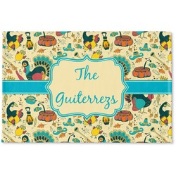 Old Fashioned Thanksgiving Woven Mat (Personalized)