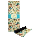 Old Fashioned Thanksgiving Yoga Mat (Personalized)