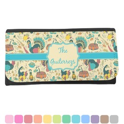 Old Fashioned Thanksgiving Ladies Wallet (Personalized)