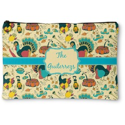 Old Fashioned Thanksgiving Zipper Pouch (Personalized)